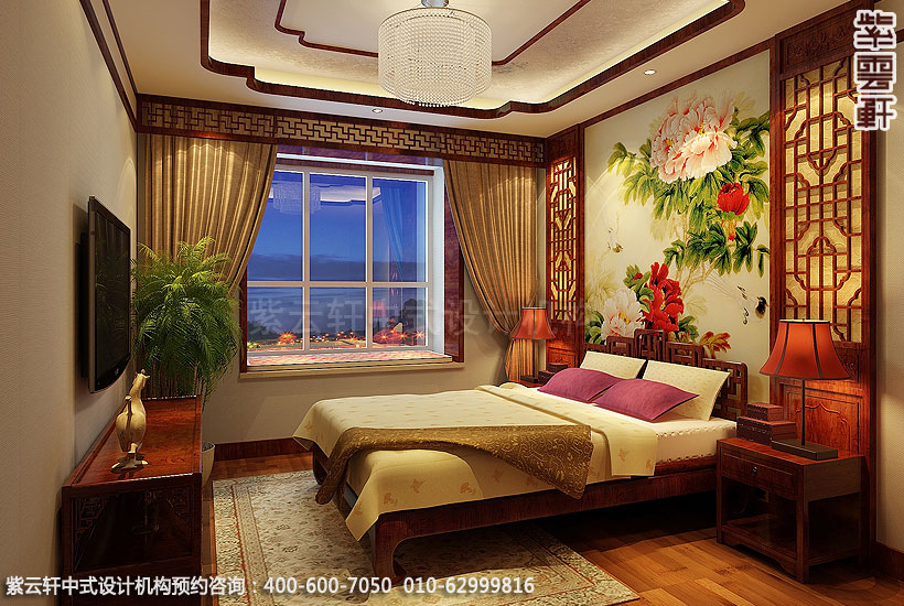 卧室中式装修风水与夫妻关系有很密切的关系