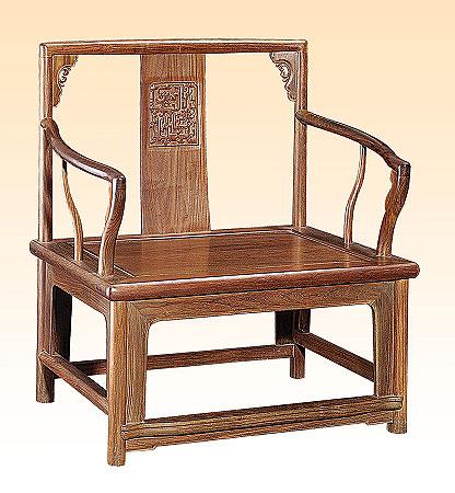 传统古典家具官帽椅美学 文质相兼含蓄天成