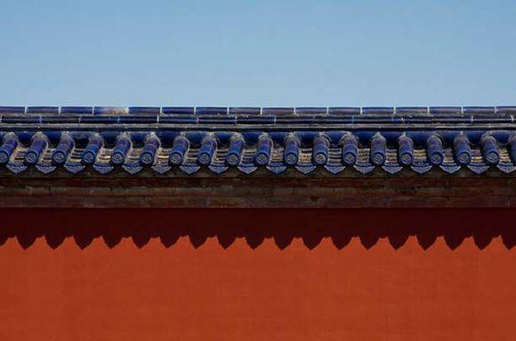 """中式设计之传统的建筑物件 """"琉璃瓦 """" 流芳百世的骄子"""