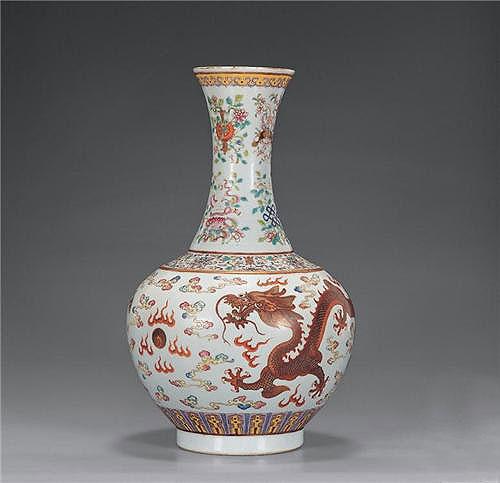 中式装修空间无价之宝景德镇瓷器摆件