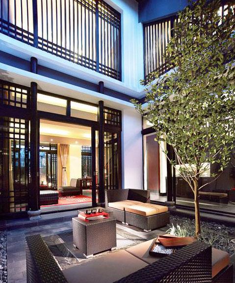徽派中式风格酒店演绎传统居舍的大雅国风之美