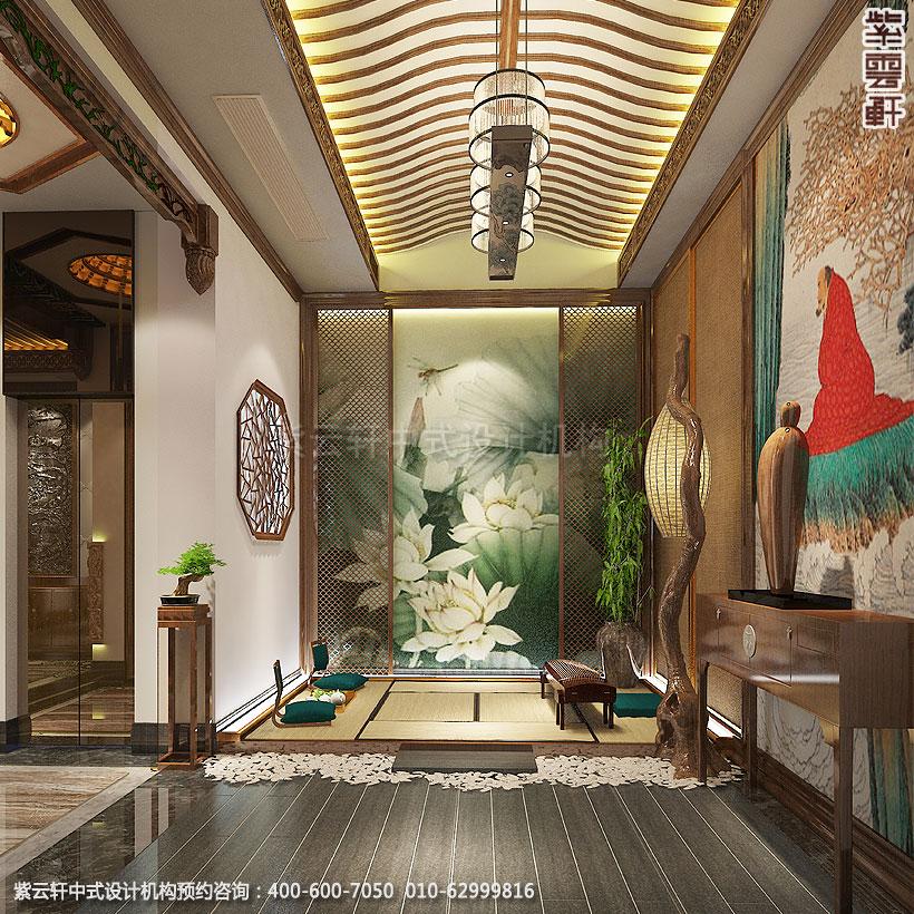 上海中式装修养身会馆 休息区