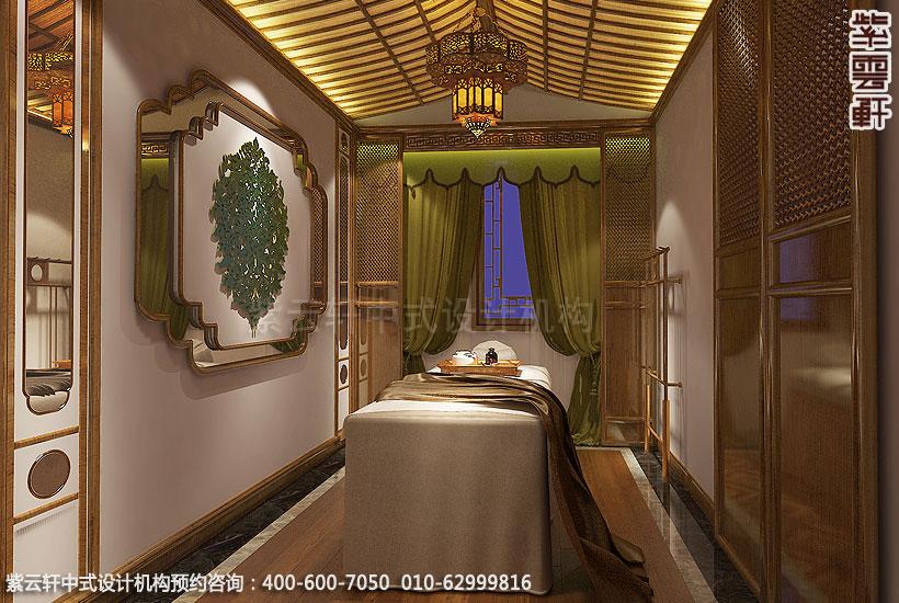 上海中式装修养身会馆 包间