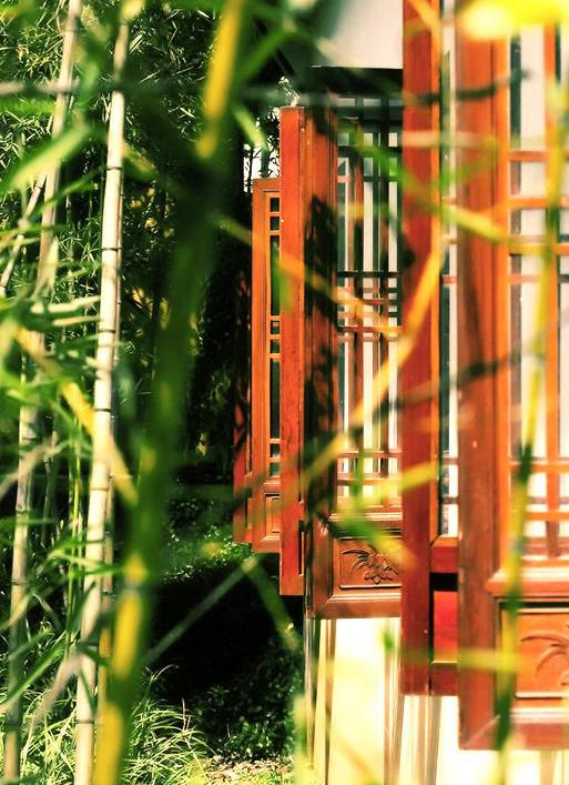 """中式古典园林造景艺术深谙""""儒、释、道""""思想之文化精髓"""