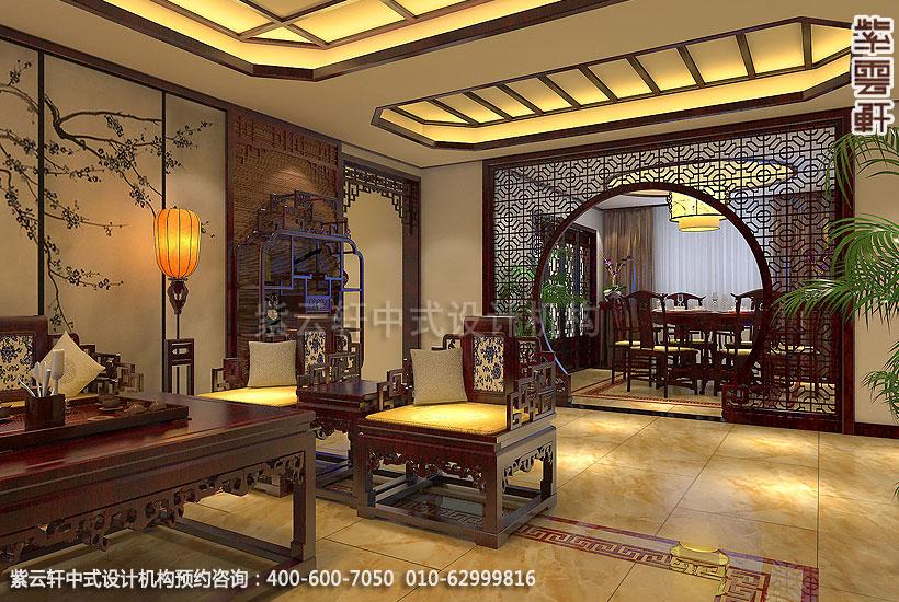 古典中式装修禅意设计住宅 刘宅餐厅