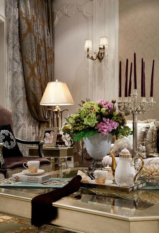 中式居室空间软装饰之美 如诗若画般醉眸清心