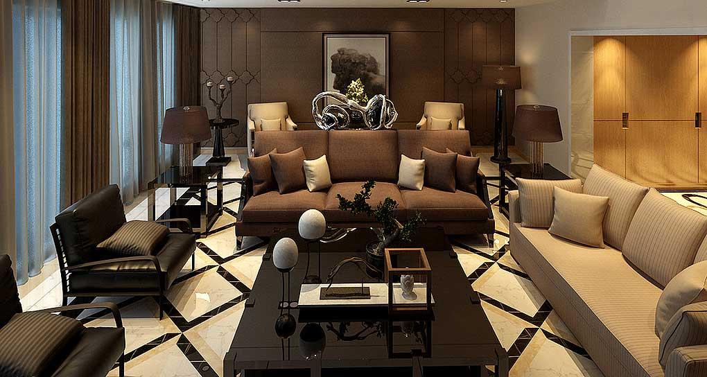 中式会客厅承载中国古典美学精神