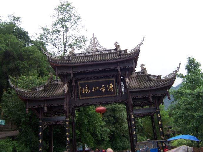 中国传统古建牌楼 古韵翩跹