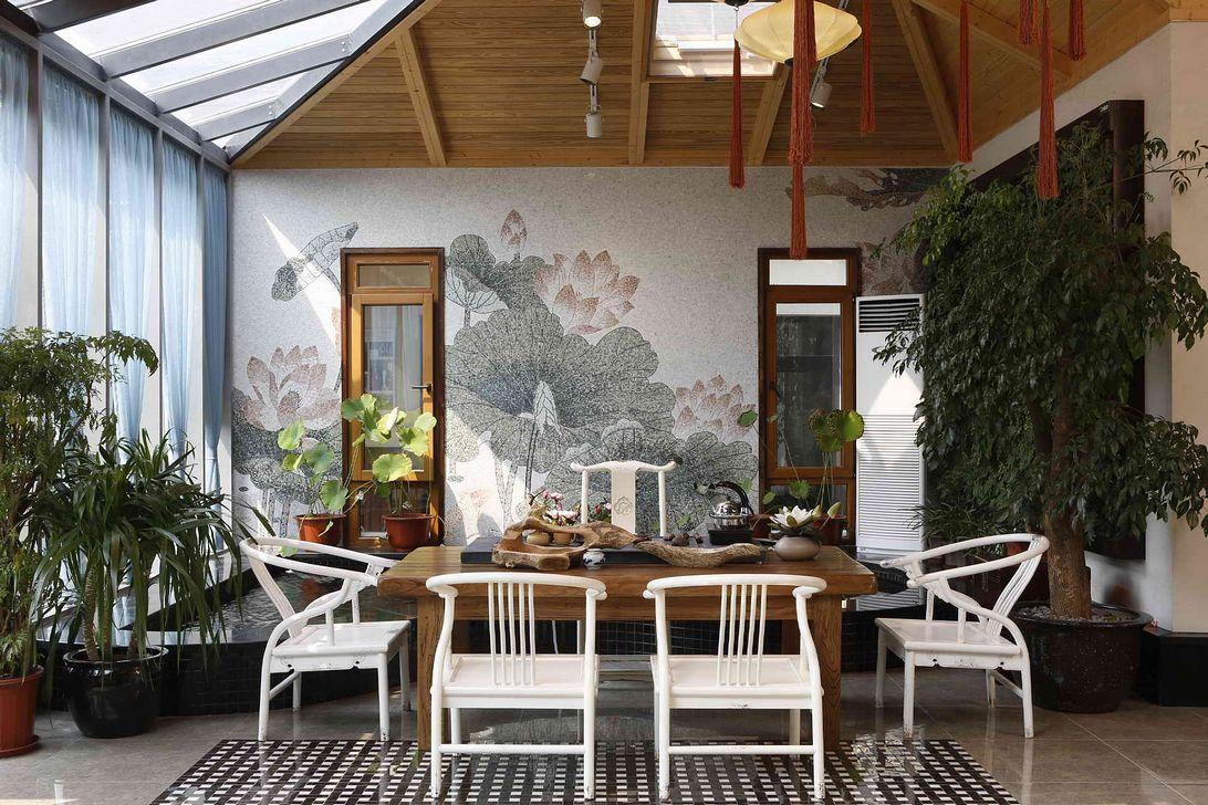 如何打造中式装修茶室的古典意境、韵味