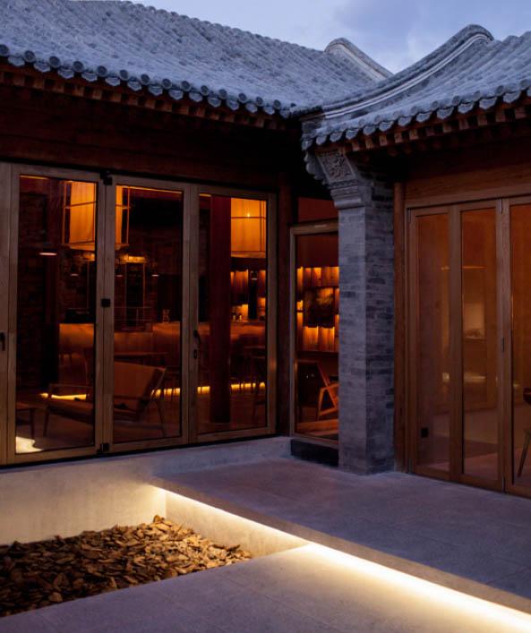木工中式装修住宅 儒雅拙朴