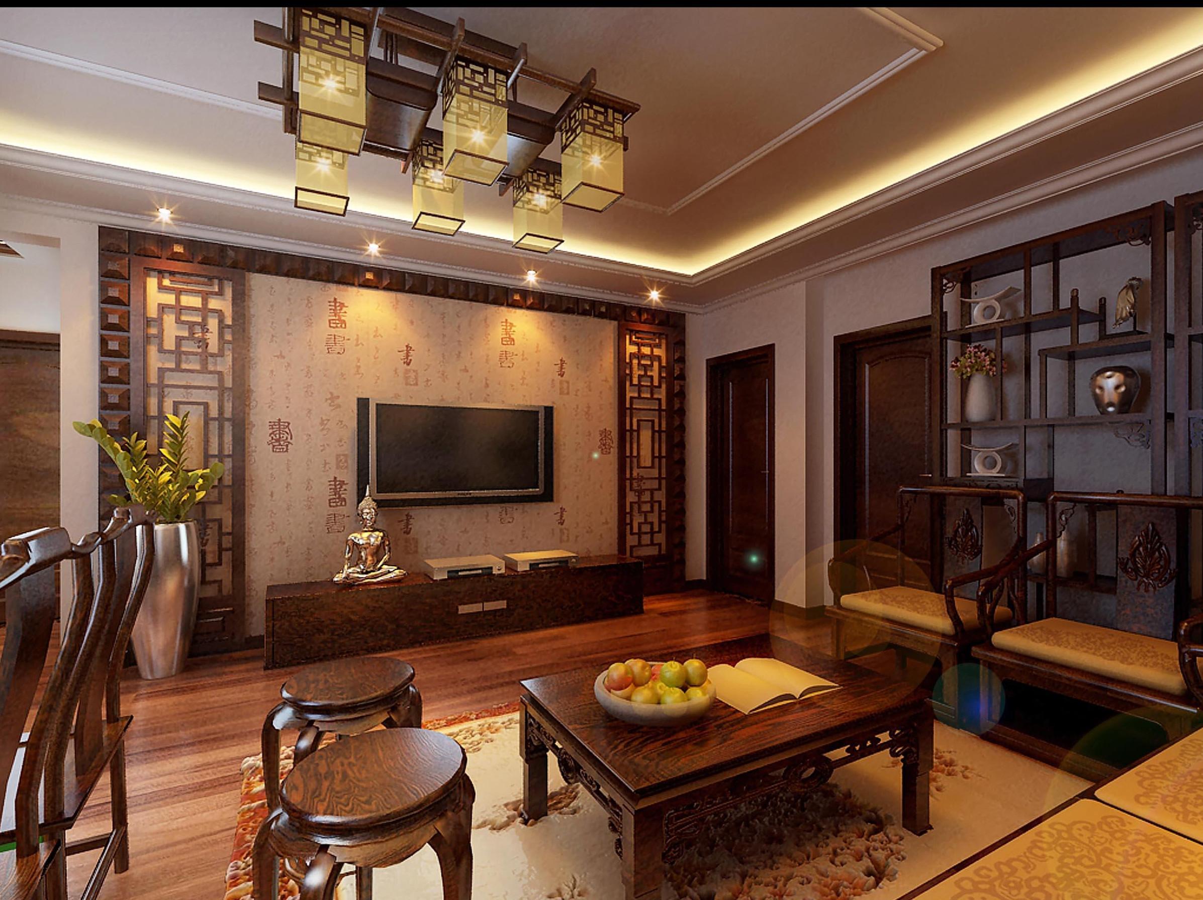 中式装修家居不同空间该选择什么样款式的灯具