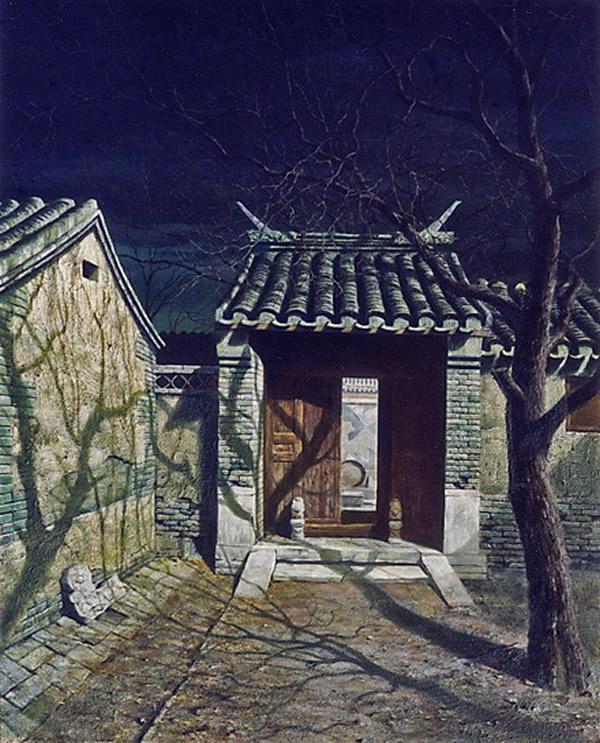古典中式装修住宅门,展现中式风水文化的布局