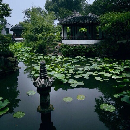 中式古典园林山石造景之美