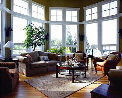中式居室空间绿意的呈现染就一方清越自然之境