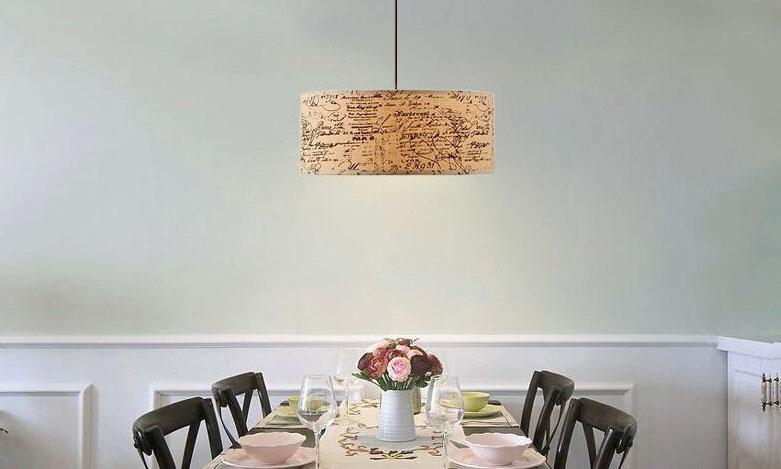 灯具的选择可以成全新中式装修的静谧