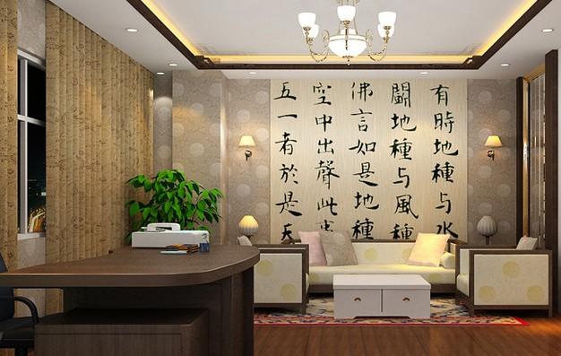 在中式装修办公室中摆放哪些植物最合适