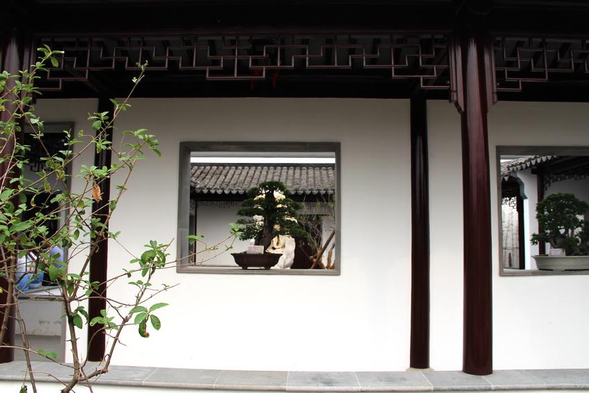 悦形,愉情,畅神,游思--中国传统居住文化之古典庭院