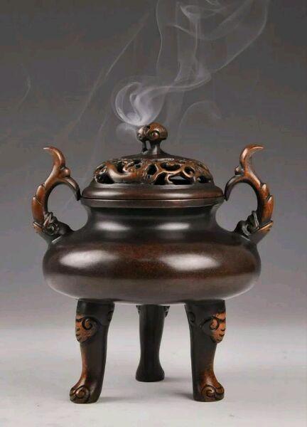 中国香炉文化的禅意之美 一炉香袅幽韵生,诗书风雅绝尘梦