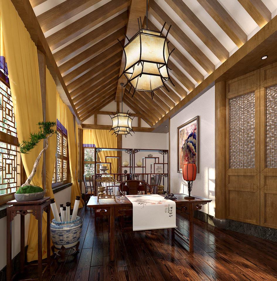 中式书房雅室极致风雅之境