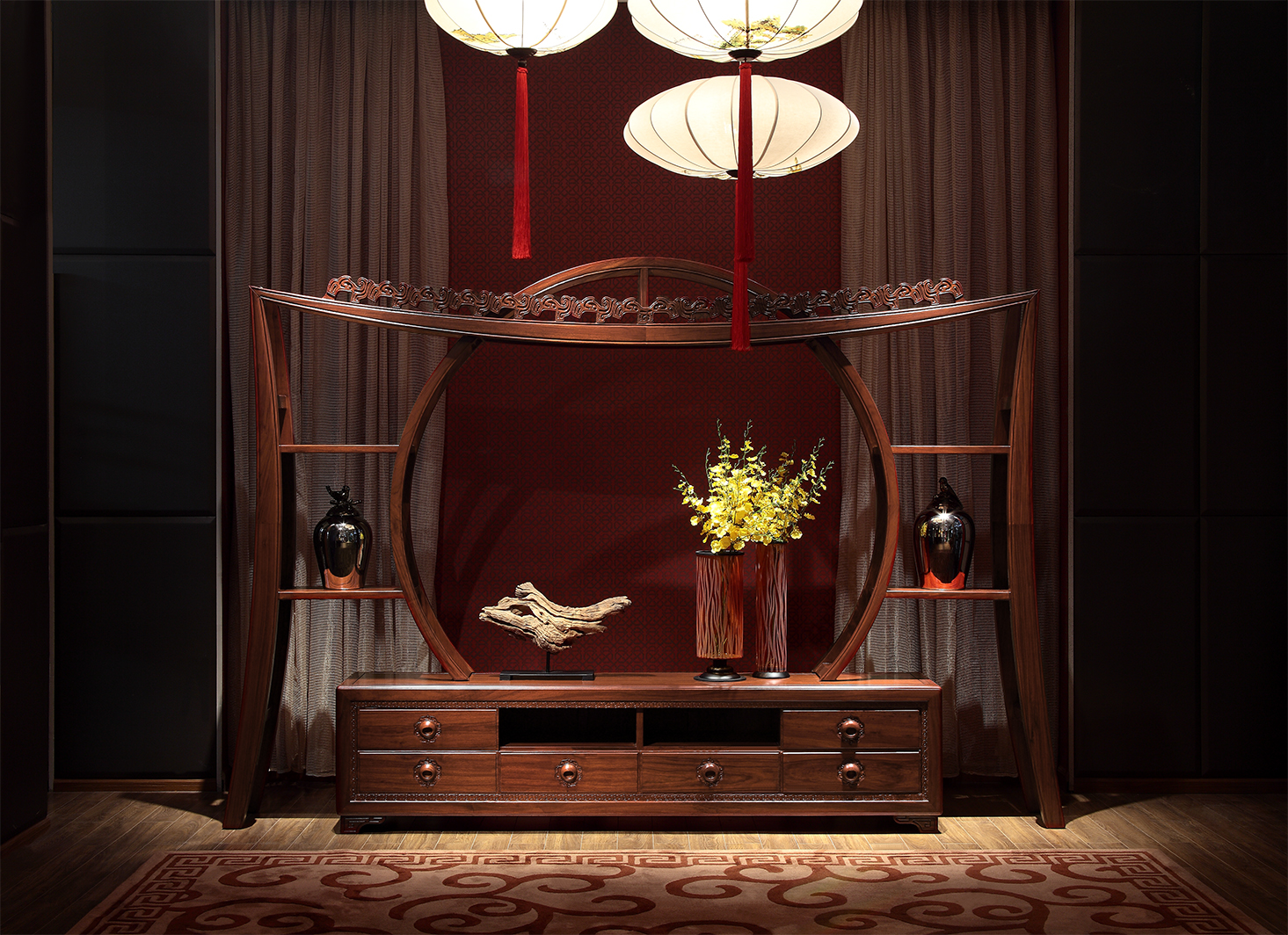 中式之美形神兼备中式古典家具 形之磊磊大度,意之含蕴深远图片