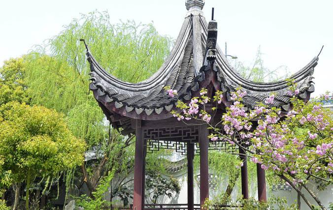中式园林美景