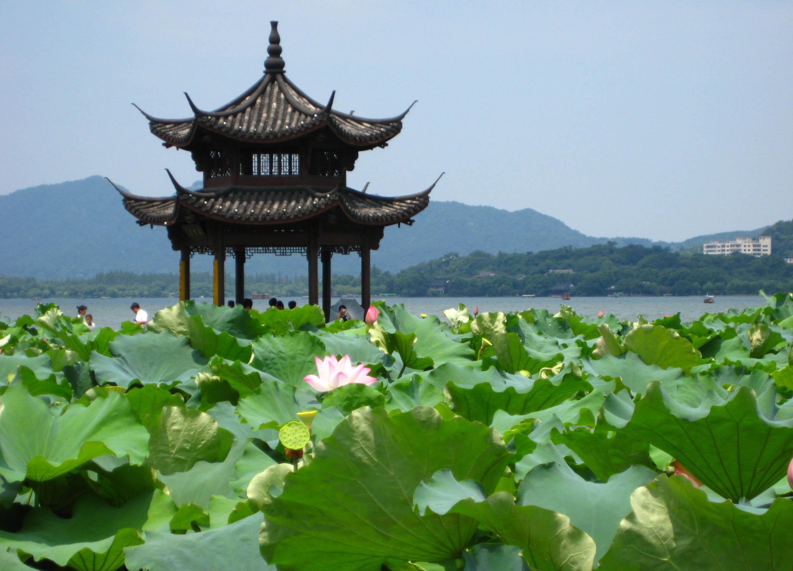 中国古典建筑,亭台楼阁 翼然而立的中式传统古亭之美