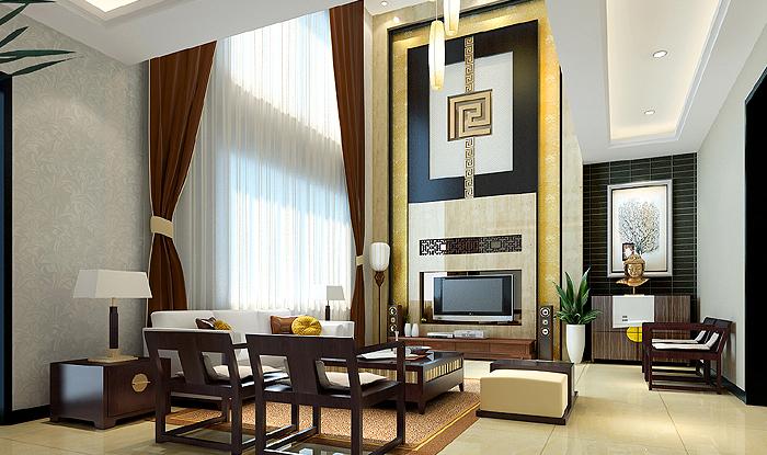 新中式风格小户型住宅要注意细节的装饰