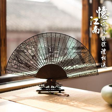 折扇、羽扇、团扇摇出最美中国风