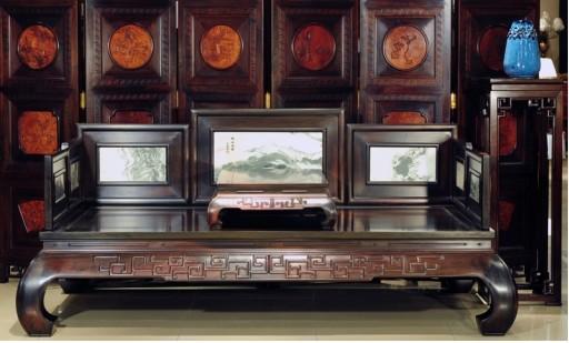 中式风格红木家具传统纹饰雕刻美学