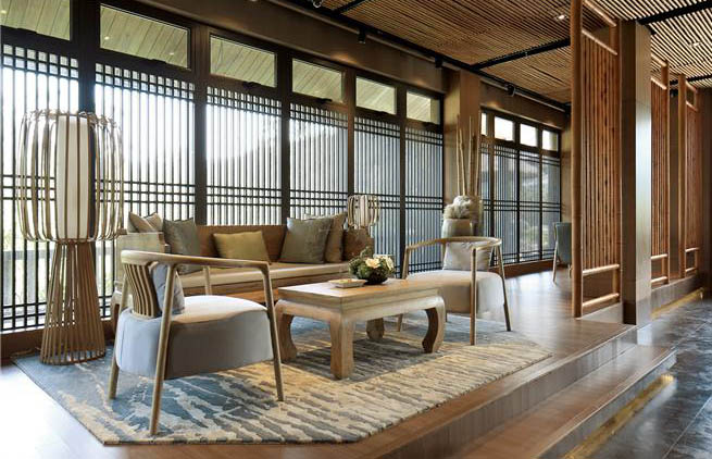 新中式禅意风格空间的清净之美 大音希声,大象无形