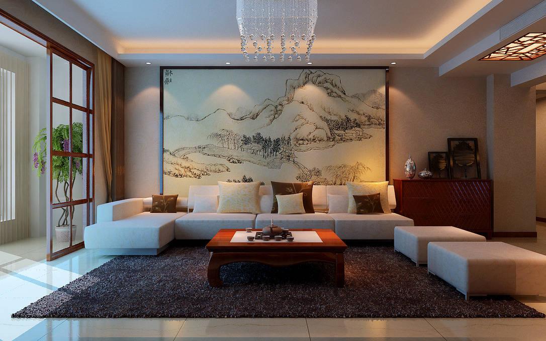 中式居室空间色彩美学 色彩搭配美轮美奂