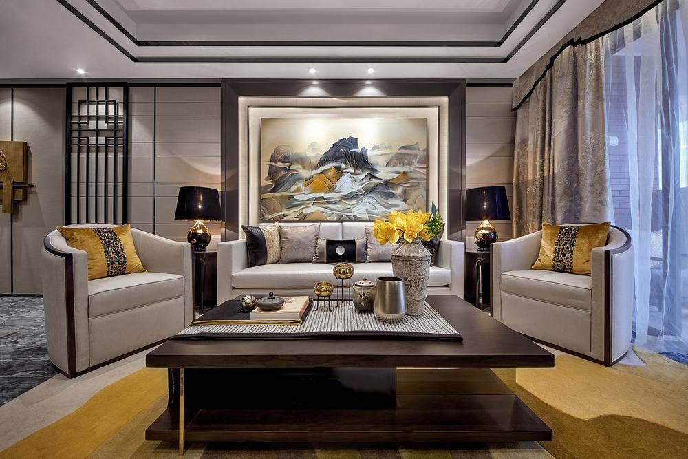 现代中式风格空间设计 营造古典、舒适融入自然的人文情怀