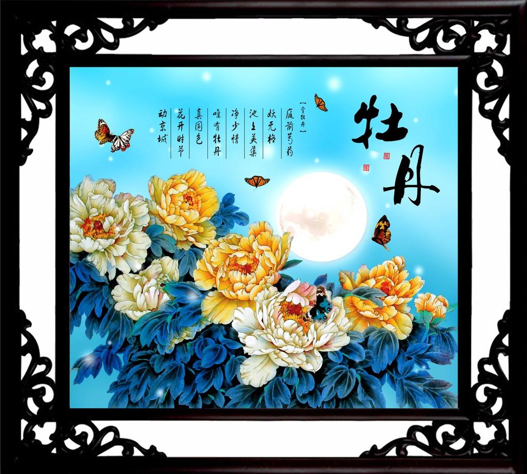 中式空间配饰花鸟装饰画 品味自然灵妙,清新优雅之境