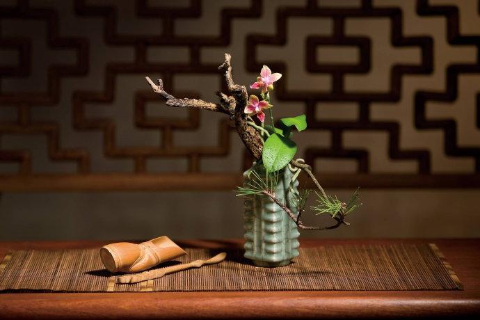中国传统插花文化之特有的宇宙观和审美情趣