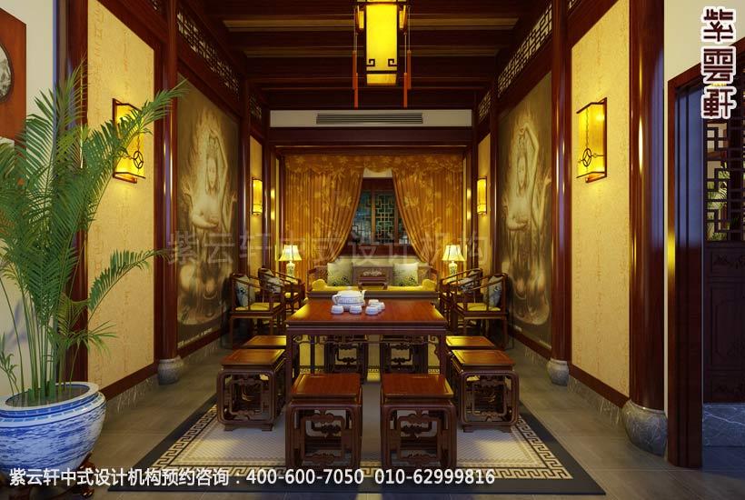 中式茶室灯具效果图大全