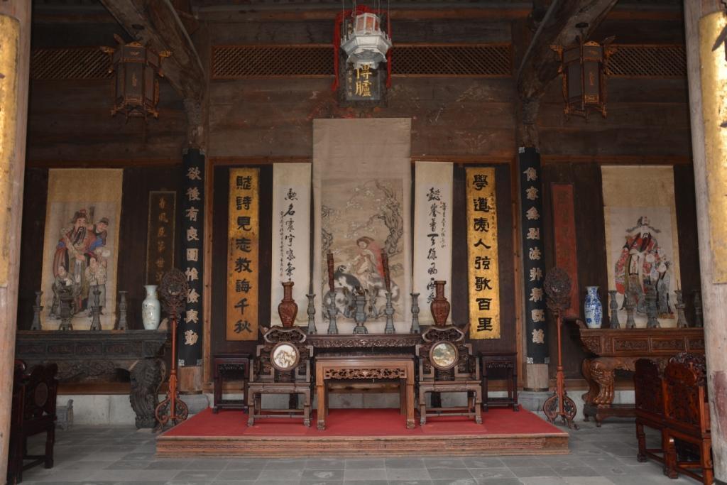 中式传统居舍中堂文化--展现装饰美学图片