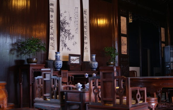 中式传统居舍中堂文化--展现装饰美学