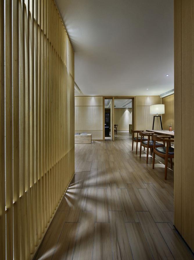 匿大美于无形 简约风格中式设计空间见素抱朴返璞归真