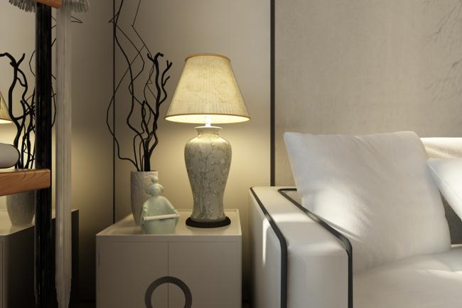 新中式空间设计,温婉的玉之浸润无限深远的审美境界