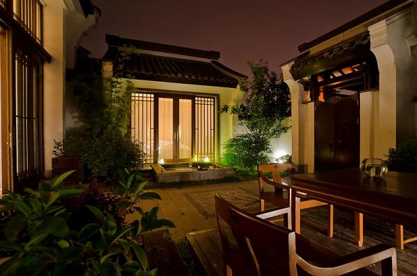 中式设计风格的杭州西溪悦榕庄 古典与现代风韵完美契合