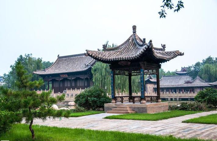 中式风格书院文风雅境 舞文弄墨尽书香