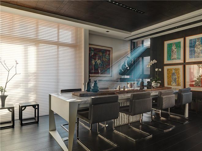 中式空间设计 引窗影斑驳成景,闻檀香禅意悠悠