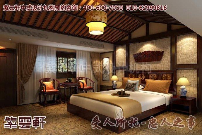 中式装修风格酒店客房装修的细节介绍