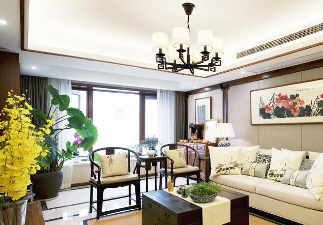 中式居室空间设计 轻描淡写间营造出东方典雅、大气的空间氛围
