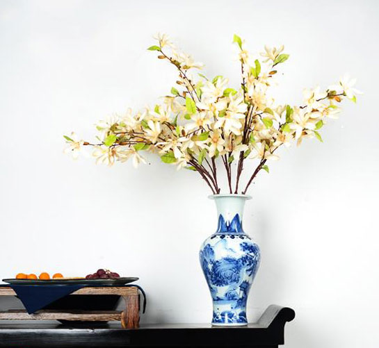 中式植物ps素材