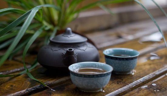 中式风格茶室空间中悠然世外 处江湖之远,栖茶香之间
