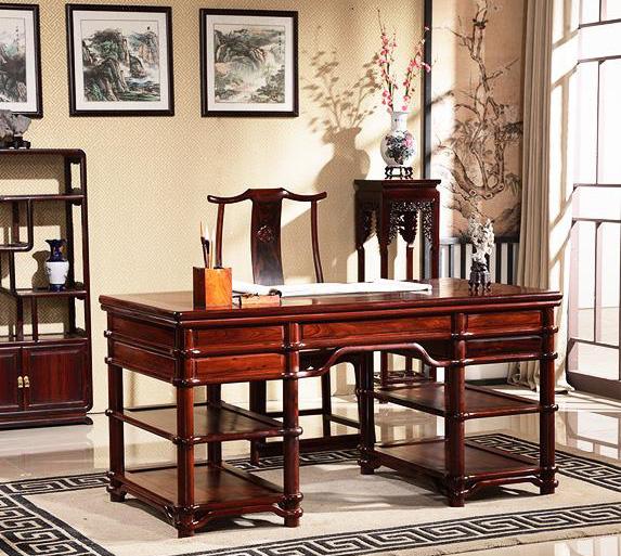中式古典家具和精美书房雅器为载体的中式设计文人空间