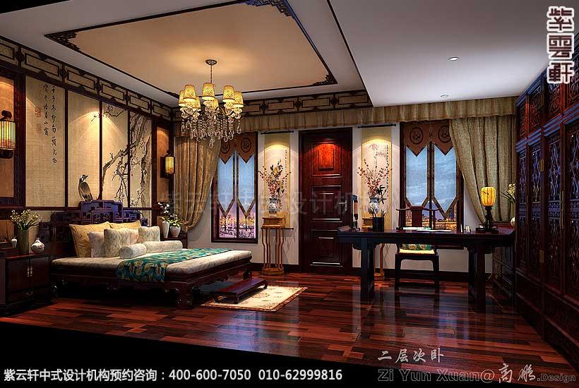 青岛别墅宋宅古典中式装修风格