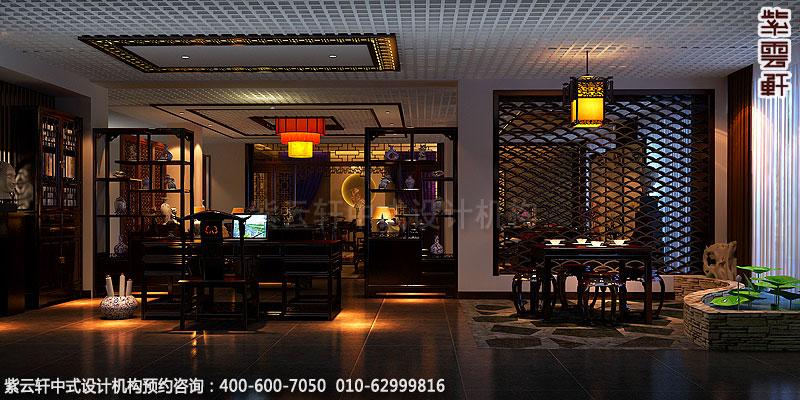 中式办公室设计