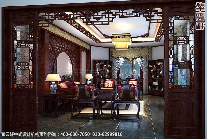 中式别墅装修